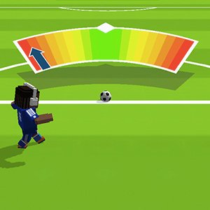 football star super striker aiming meter