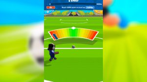 football star super striker strenght meter