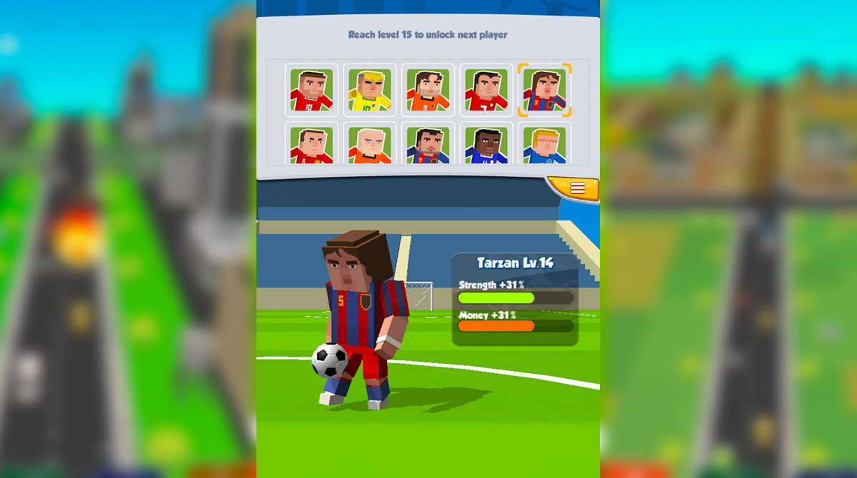 football star super striker tarzan