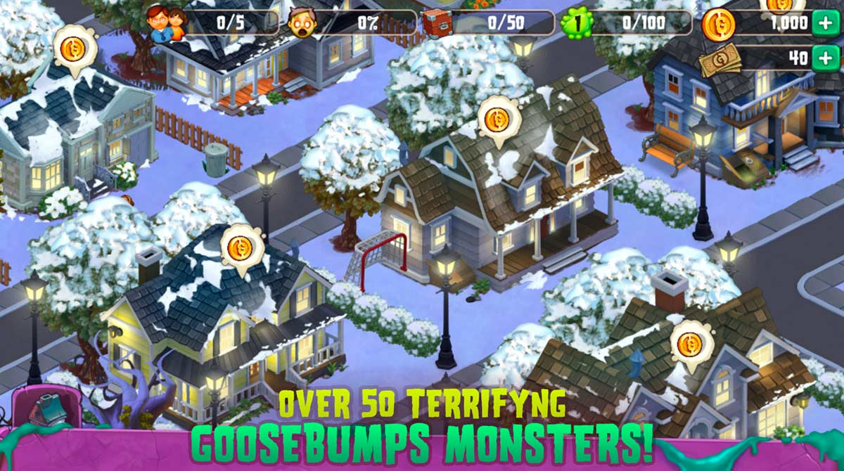 goosebumps get points to unlock monsters