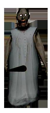 Granny Scary Sleeping Dress