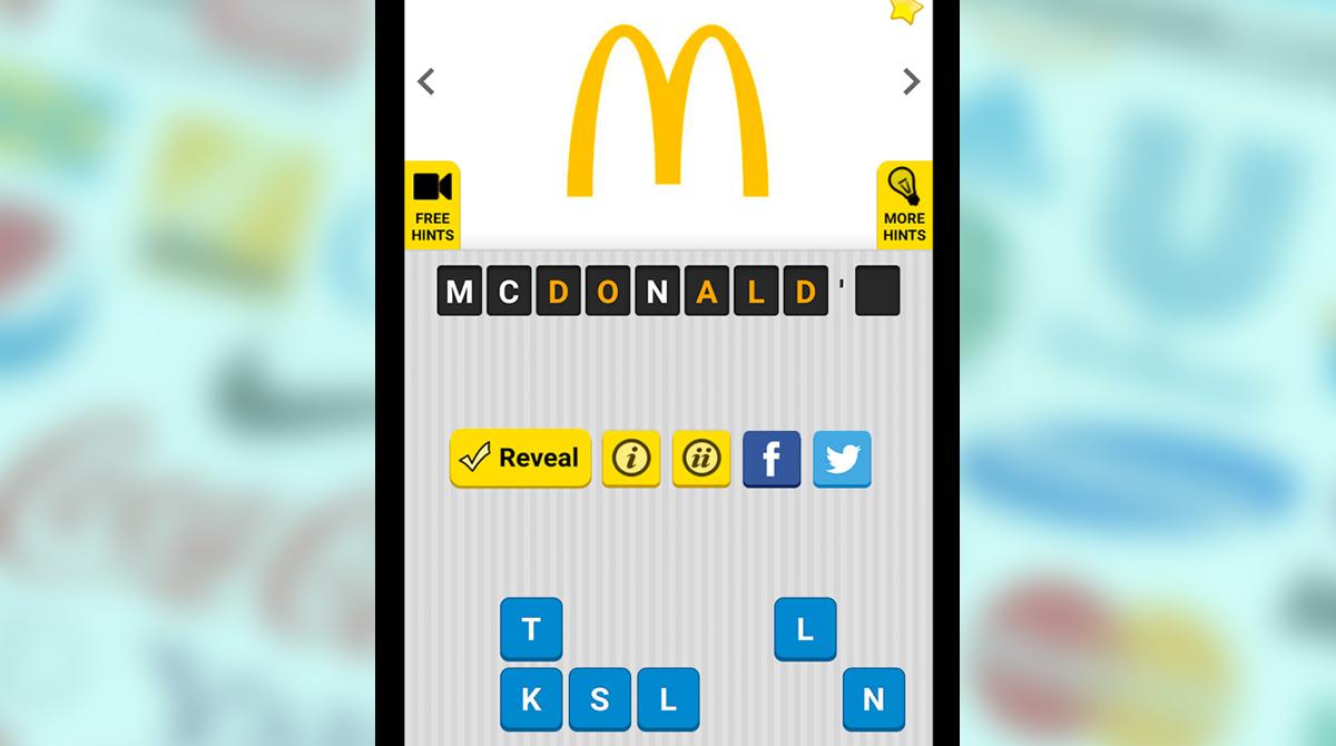 guess the logo yellow mcdonalds