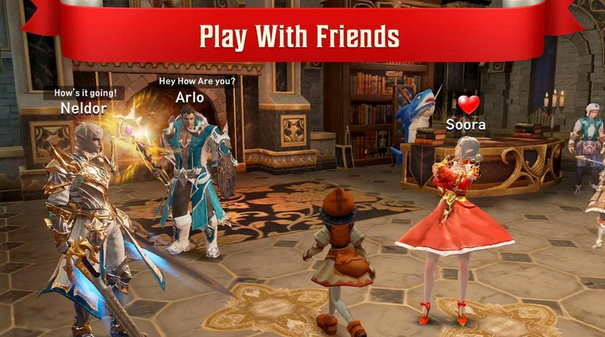 lineage2 revolution multiplayer