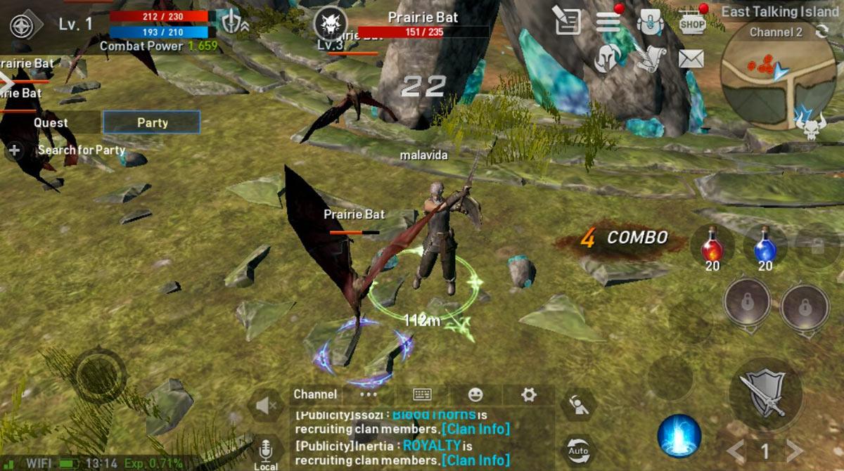 lineage2 revolution prairie bat