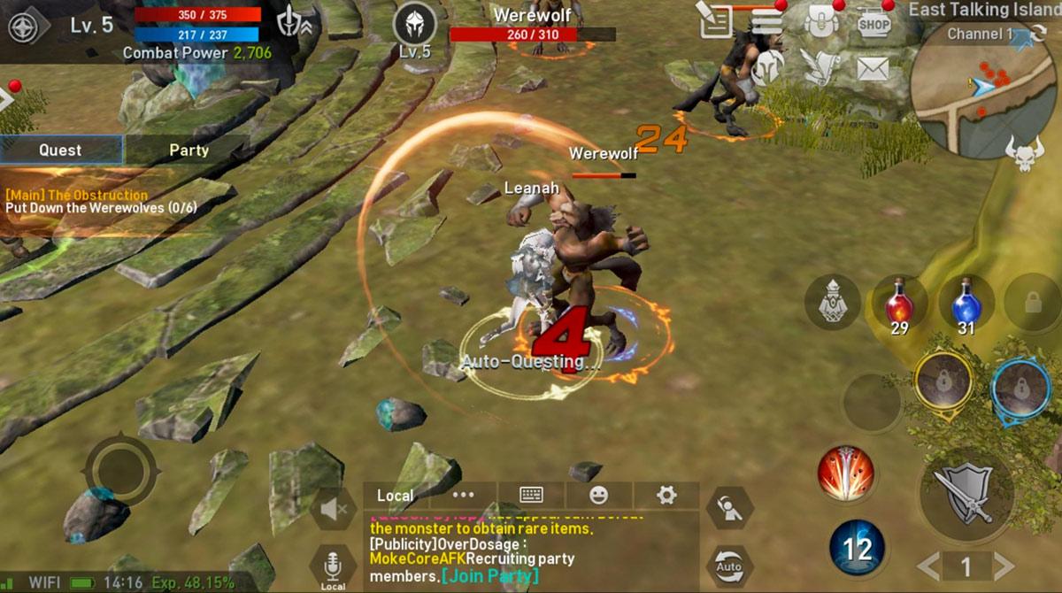 lineage2 revolution werewolf