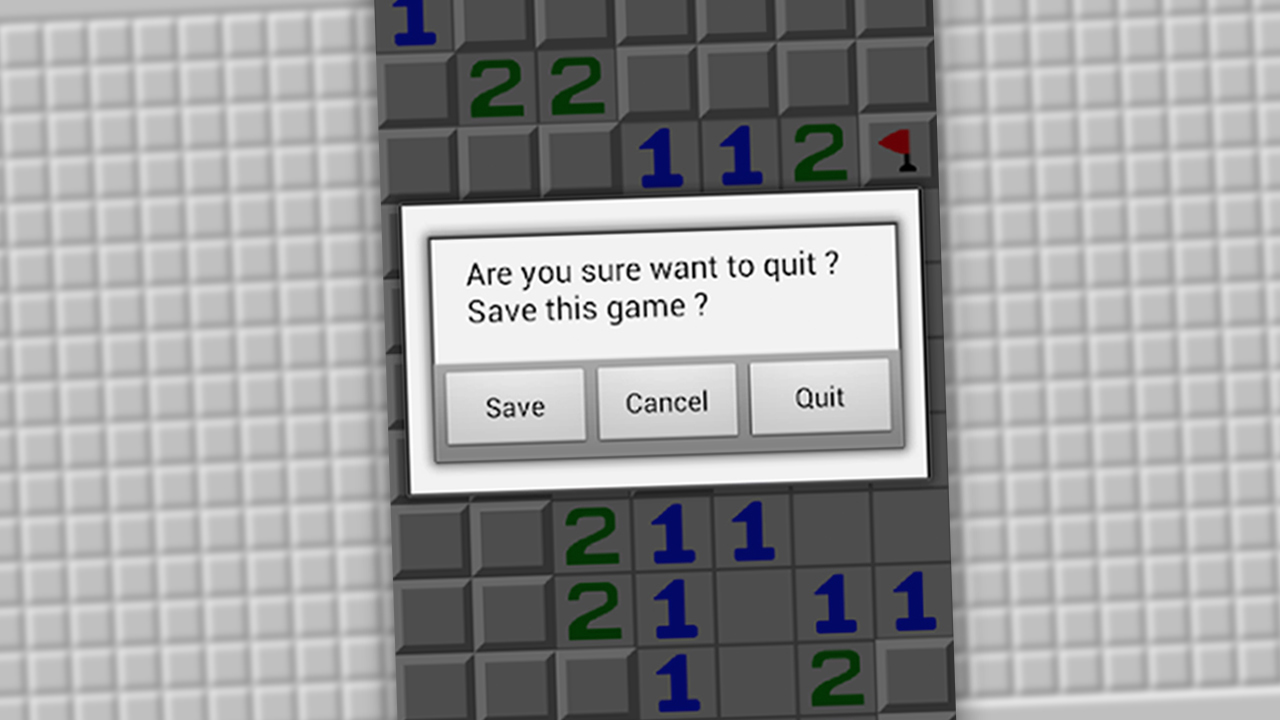 Minesweeper Save Game