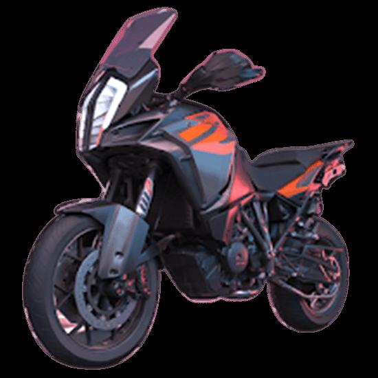 moto rider go highway traffic black bike
