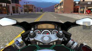 moto rider go clear street
