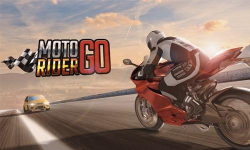 moto rider go racing bike