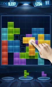 Puzzle Game Tetris Piece