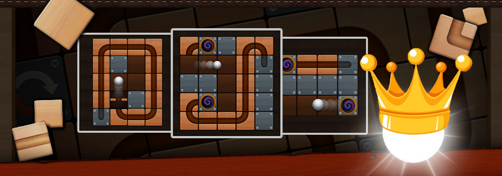 Roll the Ball – slide puzzle Free PC Download