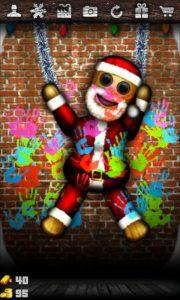 Santa Dude Hand Print