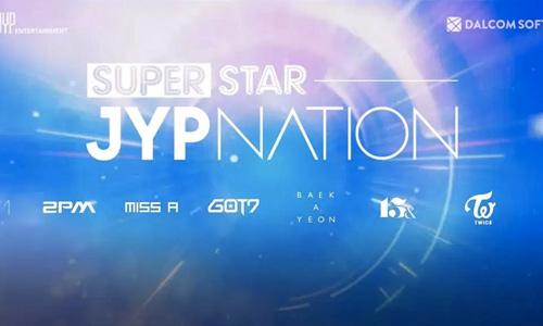 Play SuperStar JYPNATION on PC