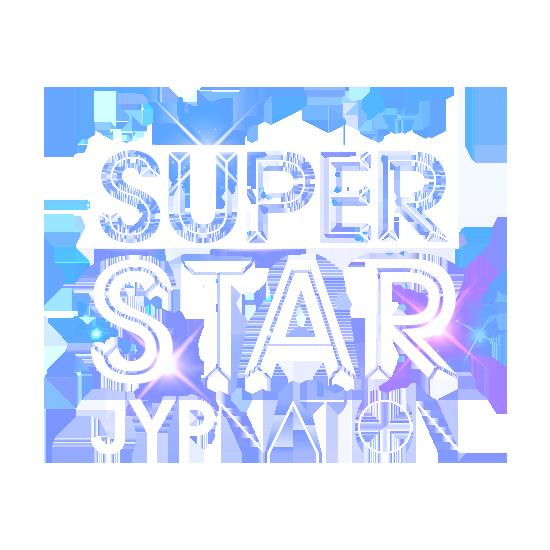 superstar jypnation shiny logo