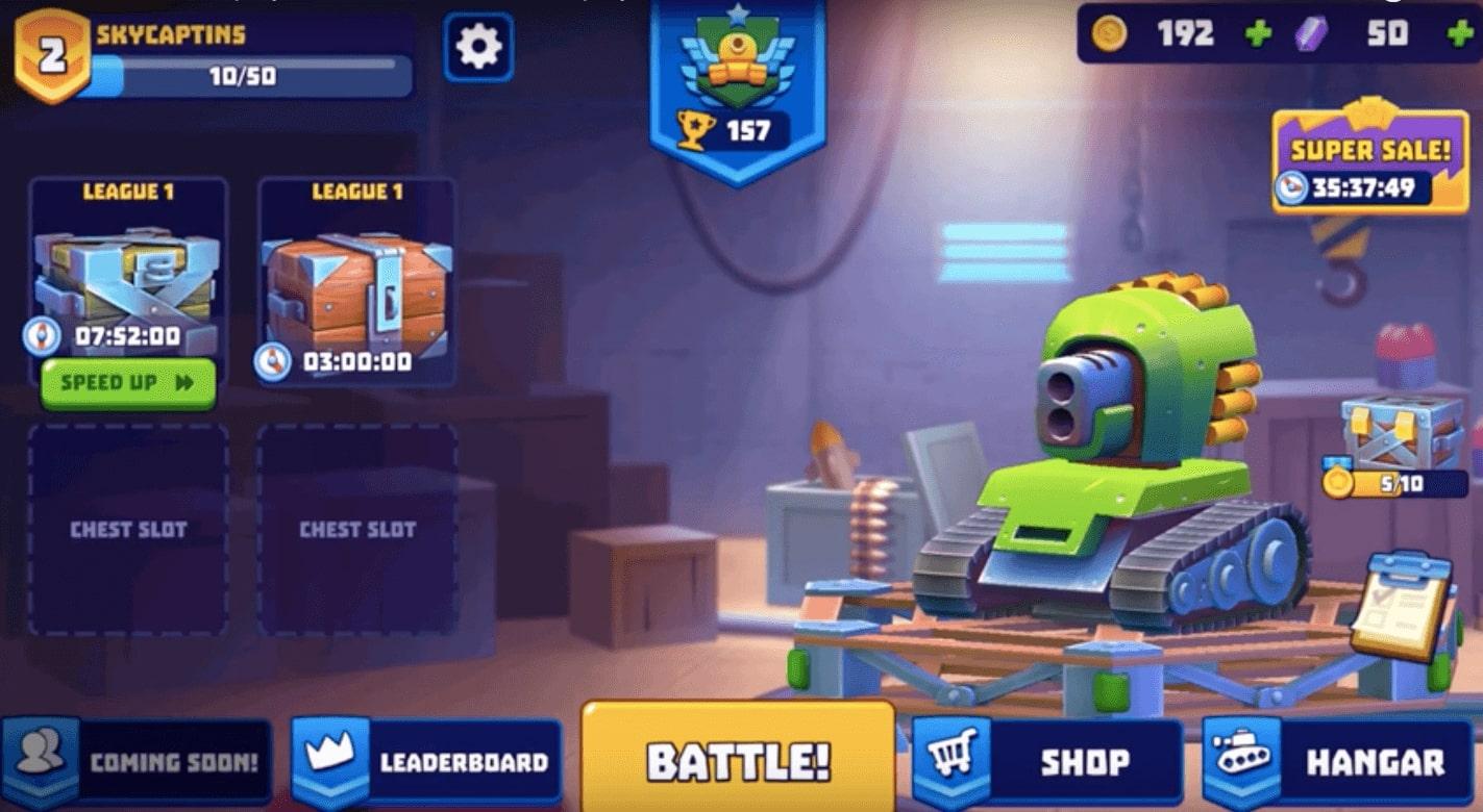 Tanks a Lot Boombit Games