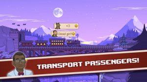 tiny rails transport passengers