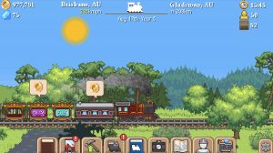 tiny rails gameplay brisbane gladstone