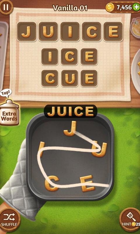Word Cookies Juice