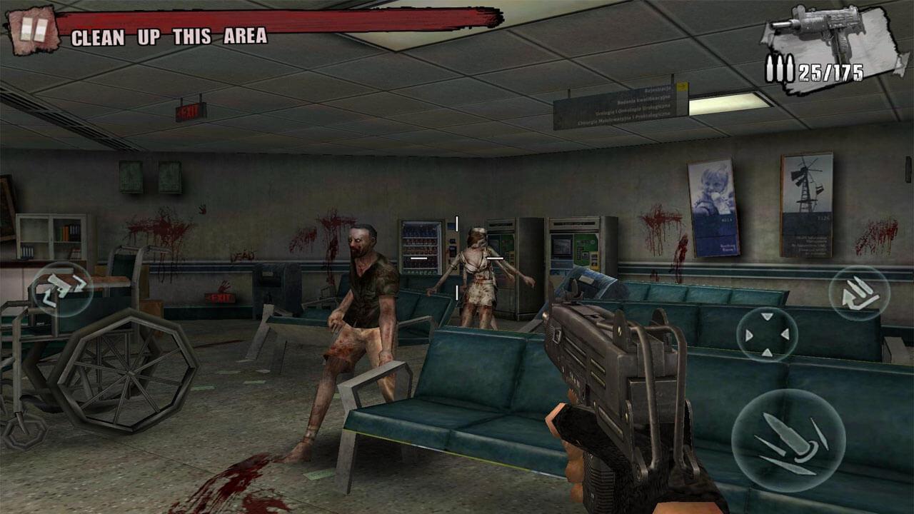 zombie frontier 3 targeting the enemies