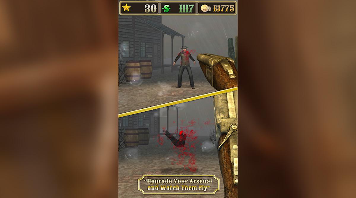 bounty hunt 2 barrel shotgun shooting