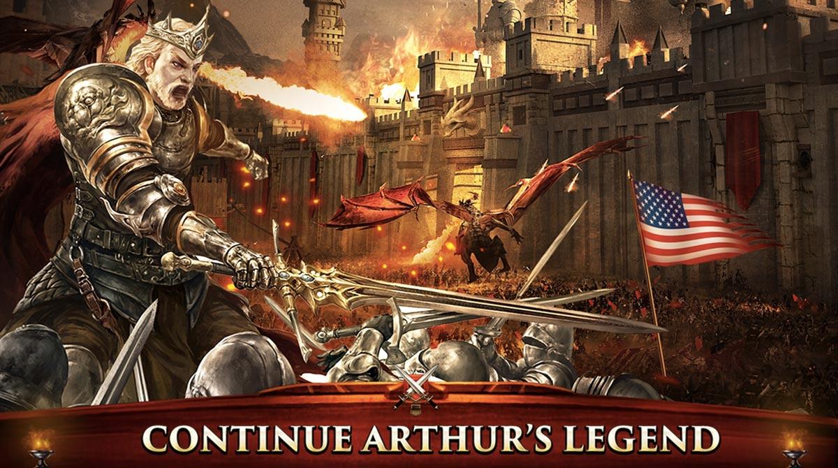 king of avalon arthur legend
