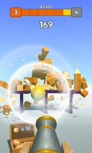 knock balls cannonballs