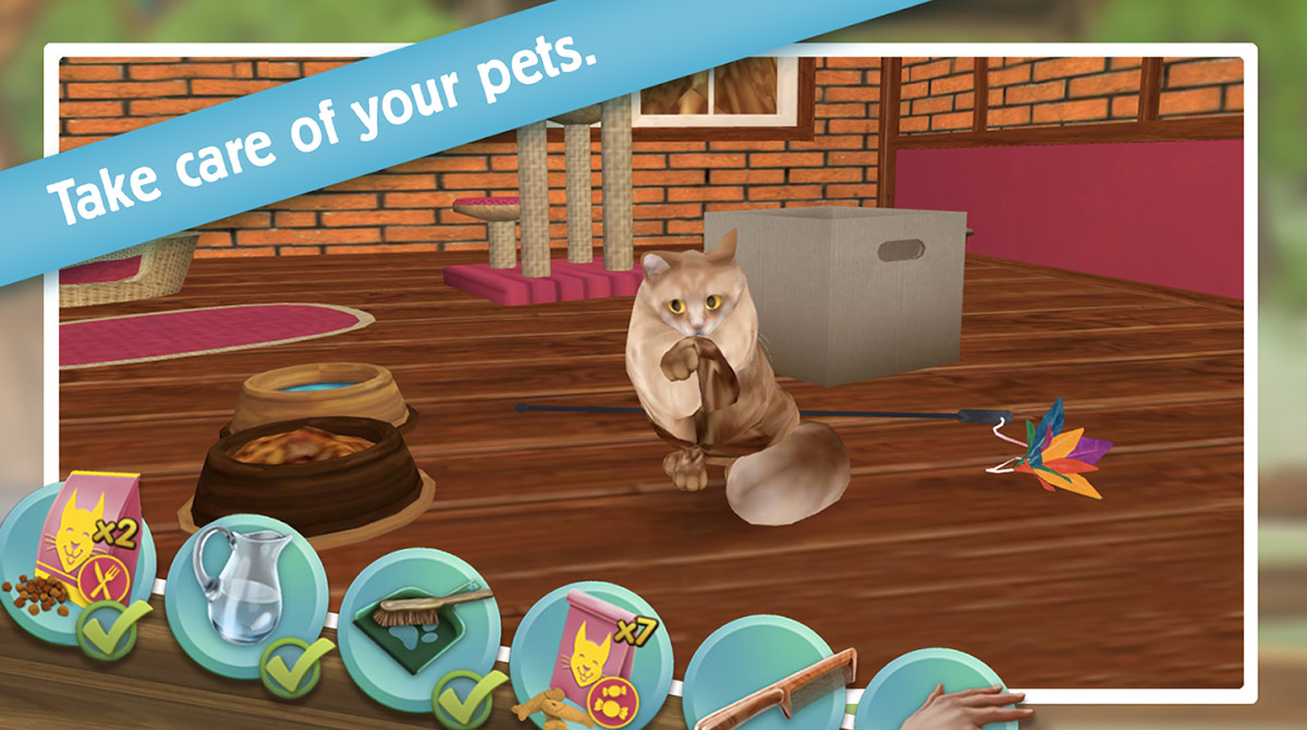 PetHotel - My Animal Boarding Kennel Game
