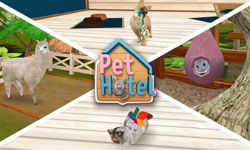 Play PetHotel – My Animal Boarding Kennel Game on PC