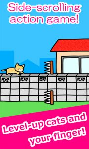 Play with Cats Side Scrolling Action Game