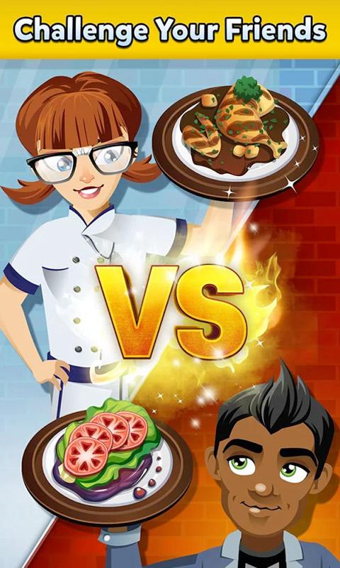 Restaurant Dash Challenge Your Friends
