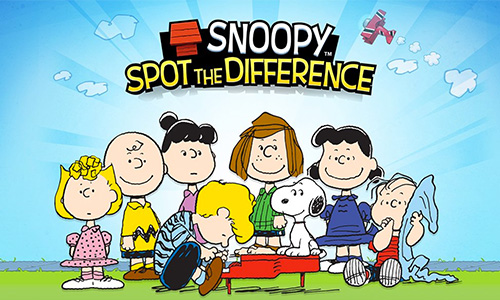Play Snoopy Spot the Difference on PC