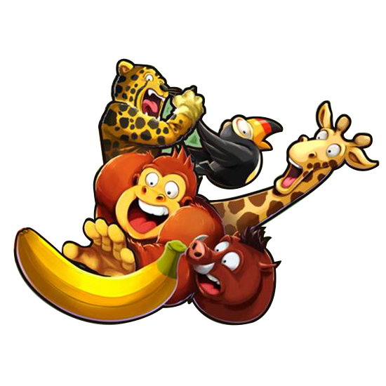 Banana Kong Friends