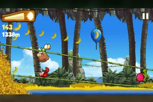 Banana Kong Swinging