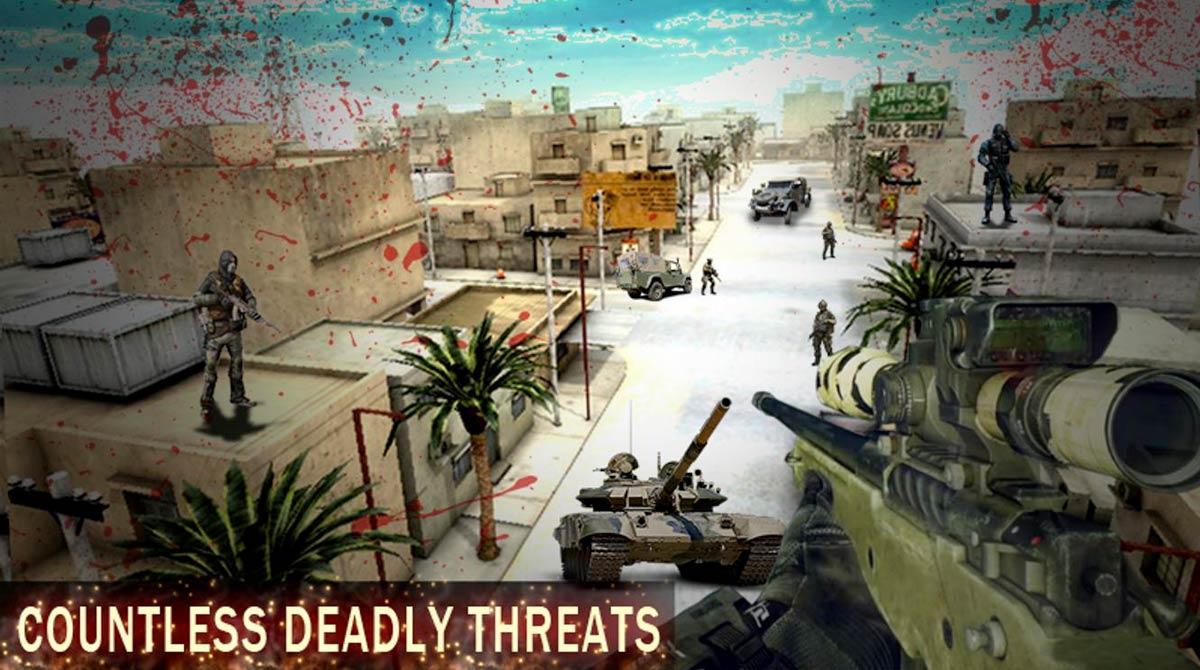 commando alpha sniper invading enemy base
