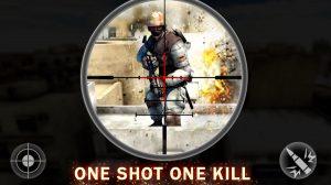 commando alpha sniper scoping enemy soldier