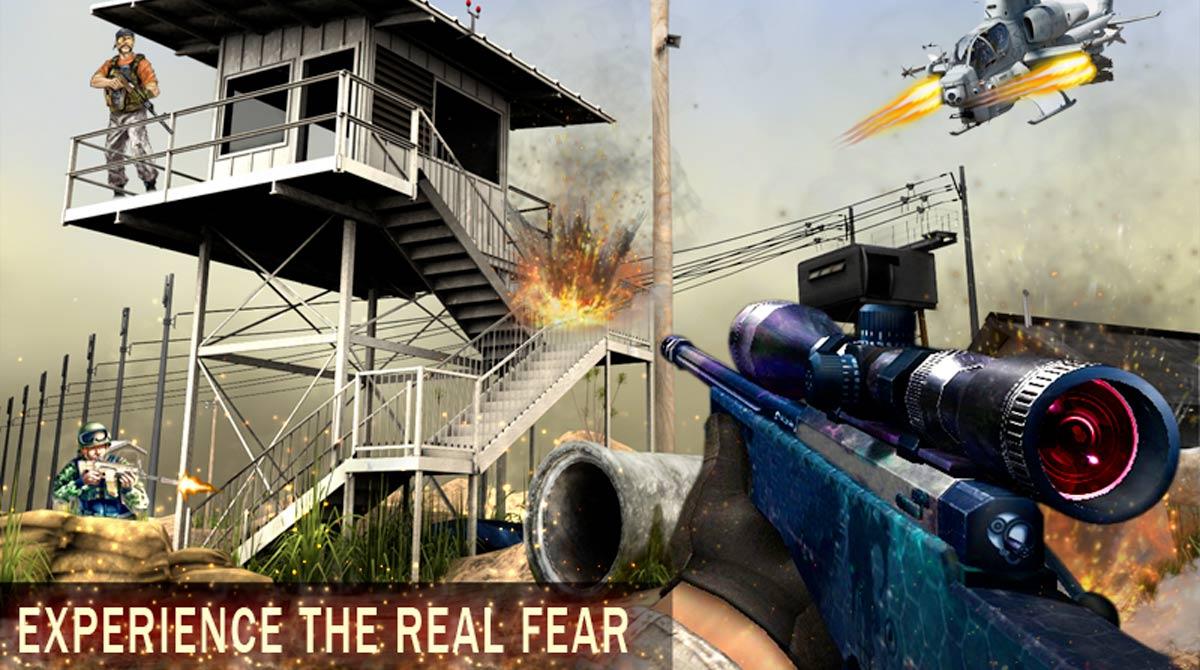 commando alpha sniper shooting sniper tower