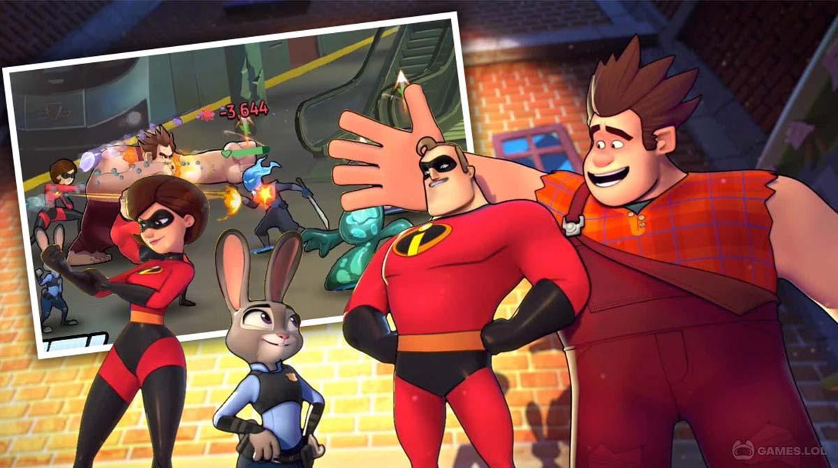disney heroes download PC free - Disney Heroes: Battle Mode