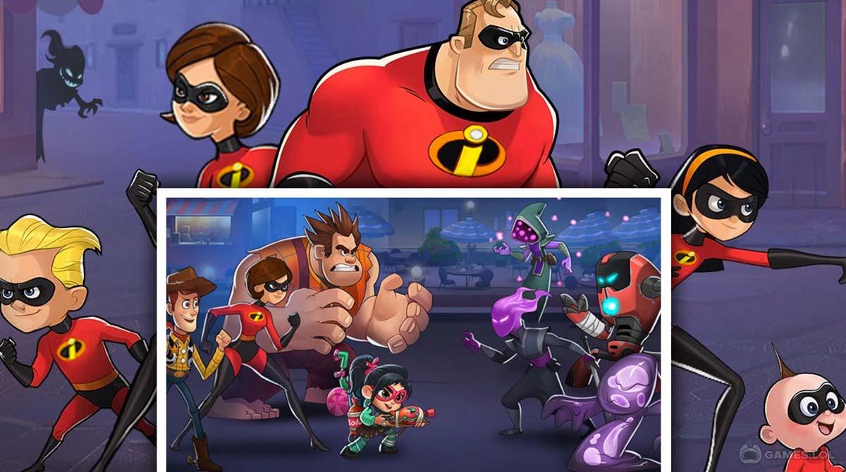 disney heroes download PC - Disney Heroes: Battle Mode
