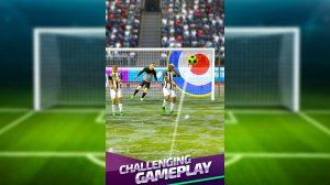 Flick Soccer Corner Target Goal