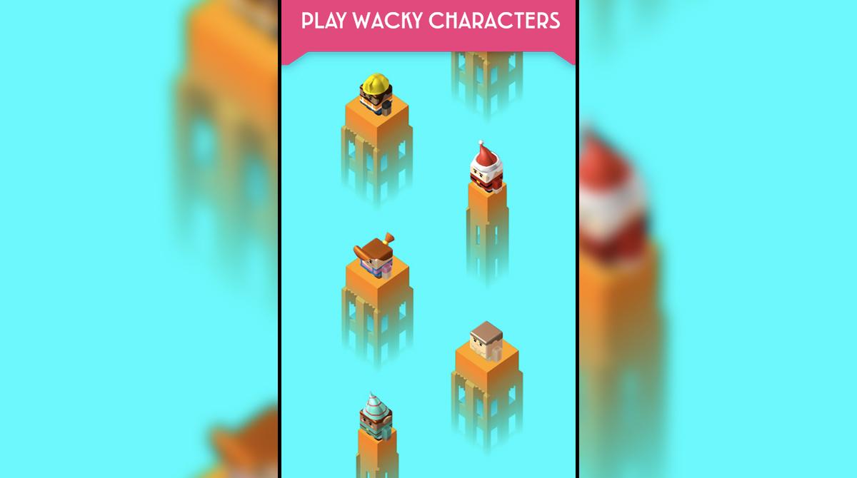 Plank Play Wacky Characters