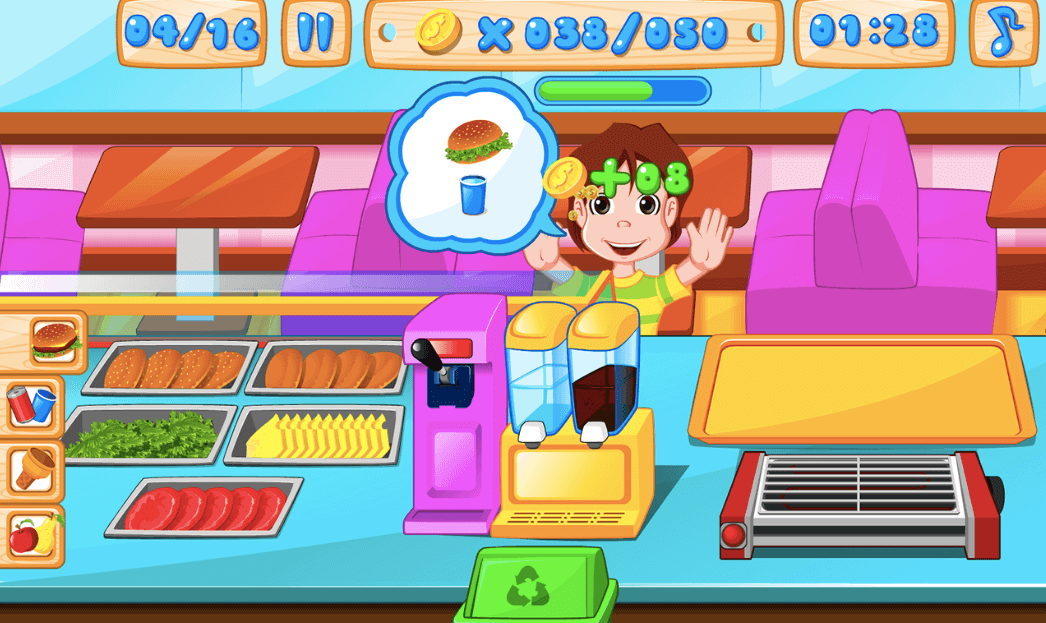 Fast food restaurant game - Fast Food Restaurant