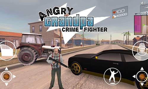Play Angry Grandpa Crime Fighter on PC