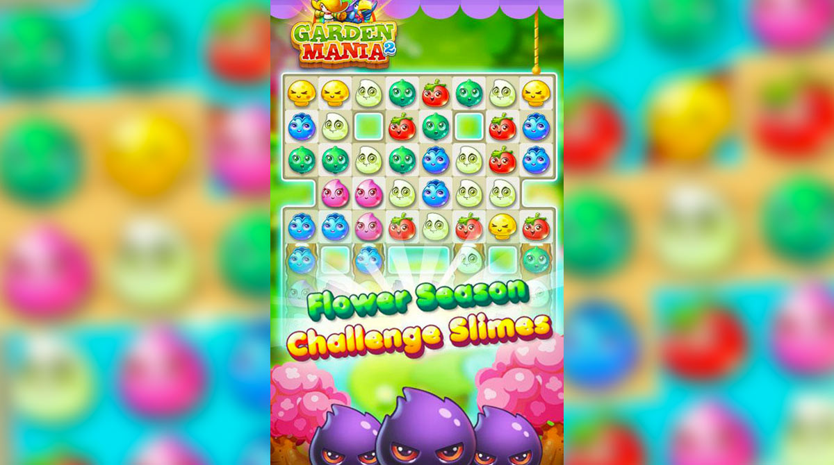 Garden Mania 2 Challenge Slime