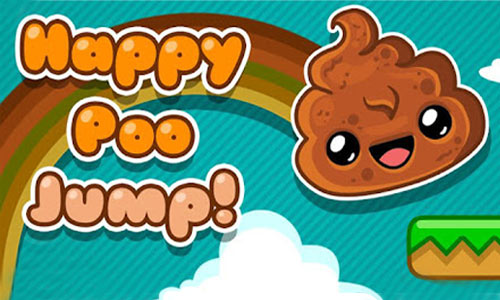 Play Happy Poo Jump  on PC