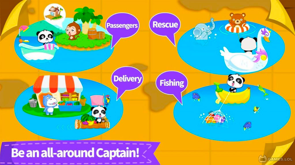 little panda captain download free