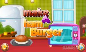 Play Make a HamBurger on PC