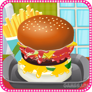 Play Make a HamBurger on PC