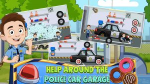 my town police car garage