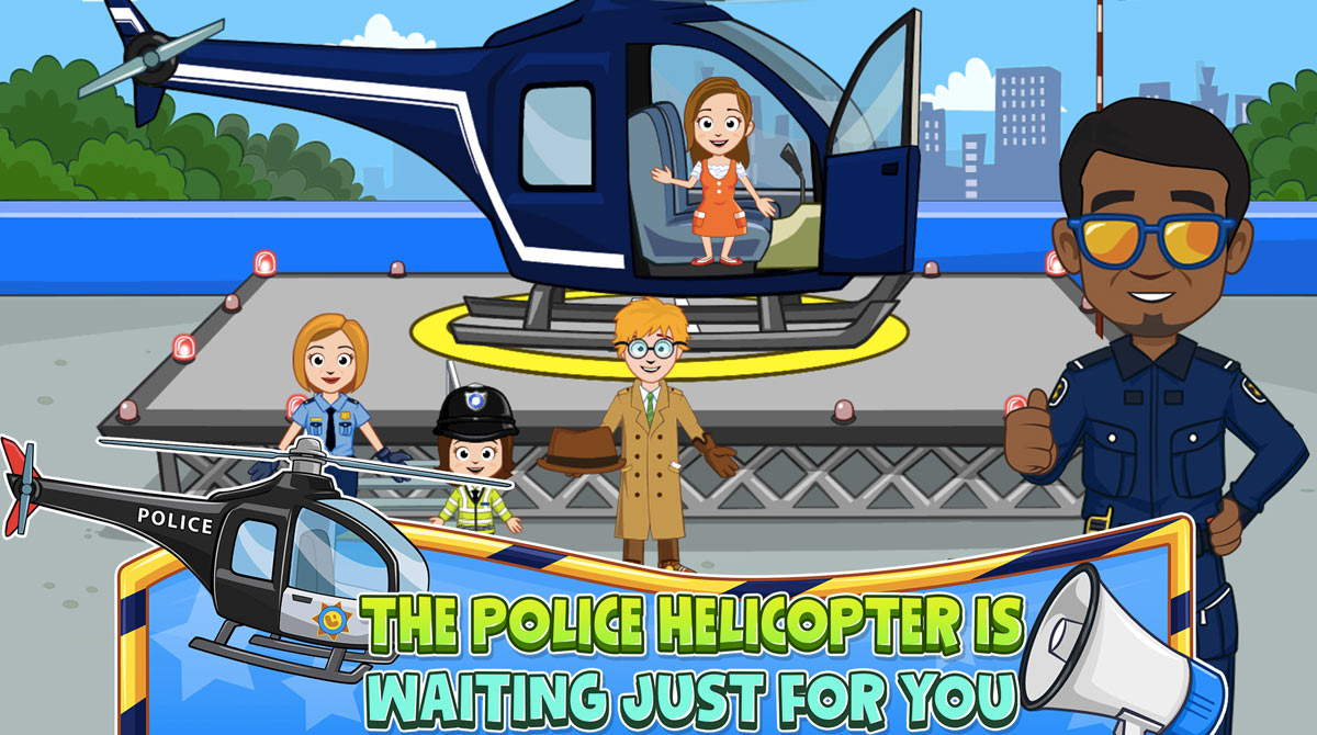 my town police helicopter
