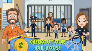my town police jail house